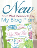 My Blog Plan